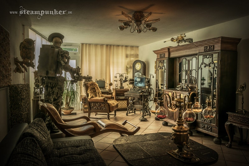 steampunk living room ideas 21 steampunk artwork free amp premium templates 15778