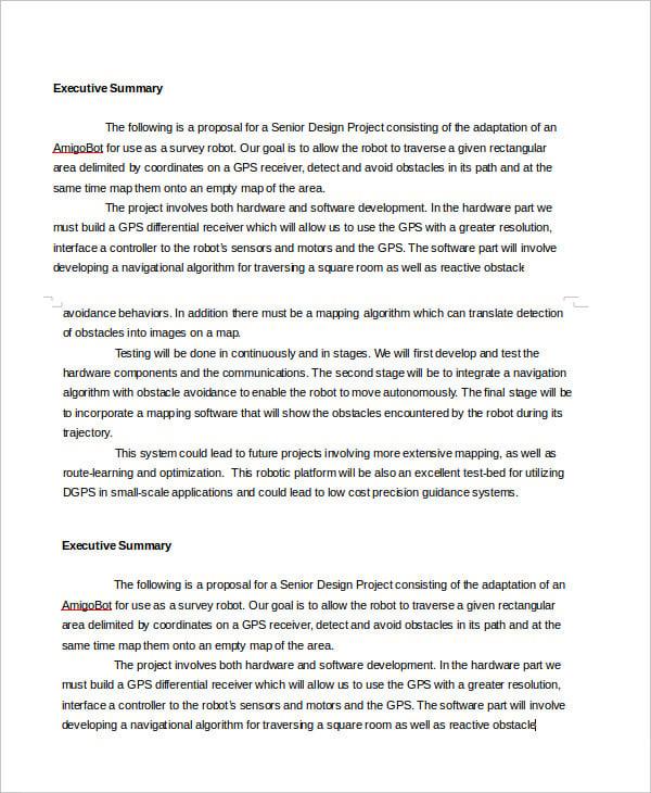 executive report template - solarfm.tk