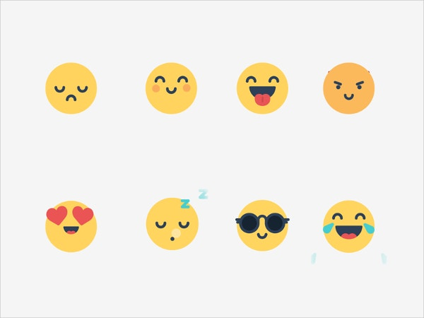 animated cool emojis
