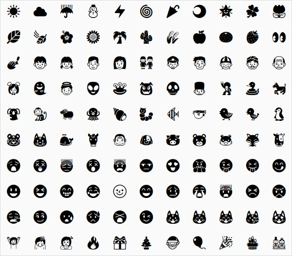 20 cool emojis free psd vector ai illustrator eps for Free emoji templates