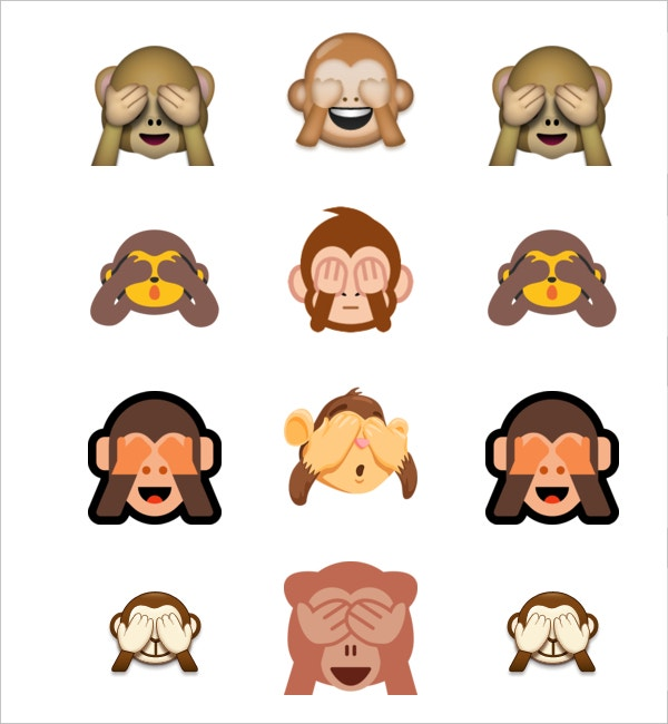 see no evil monkey emojis1