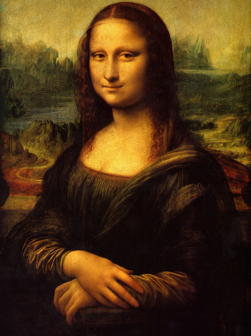 painting of mona lisa by leonardo da vinci