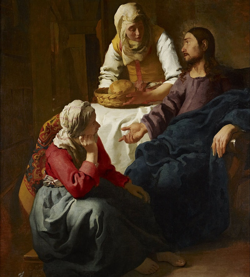 christ in the house of mary