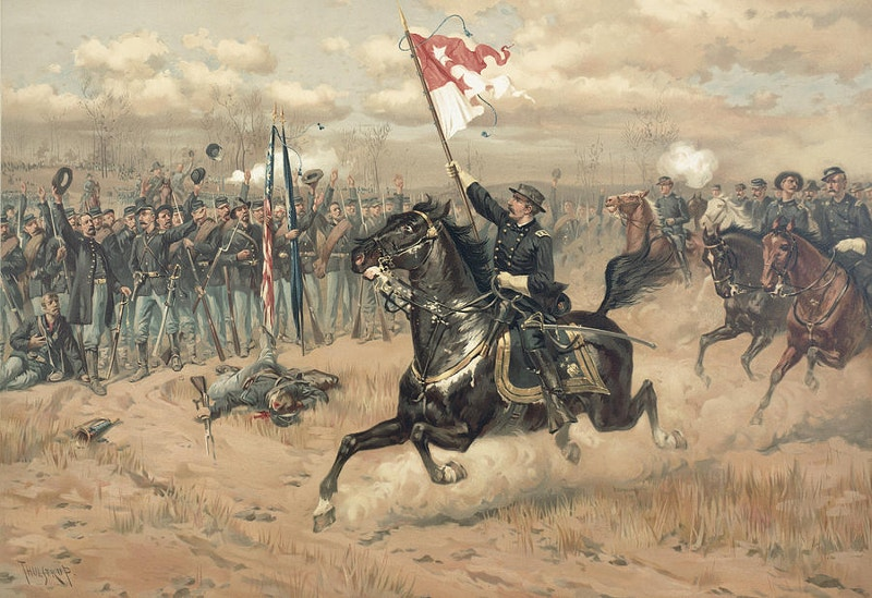 the battle of cedar creek virginia