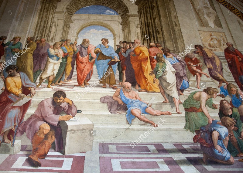 vatican painting of mural
