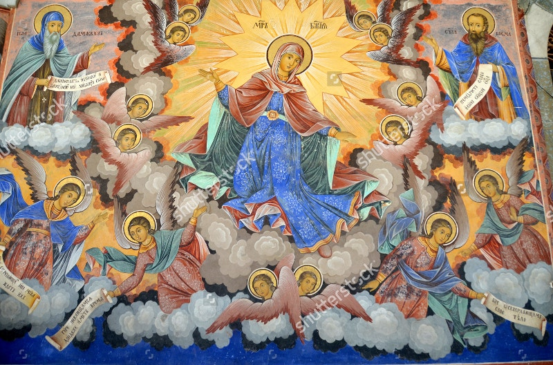 wall-painting-at-rila-monastery-church