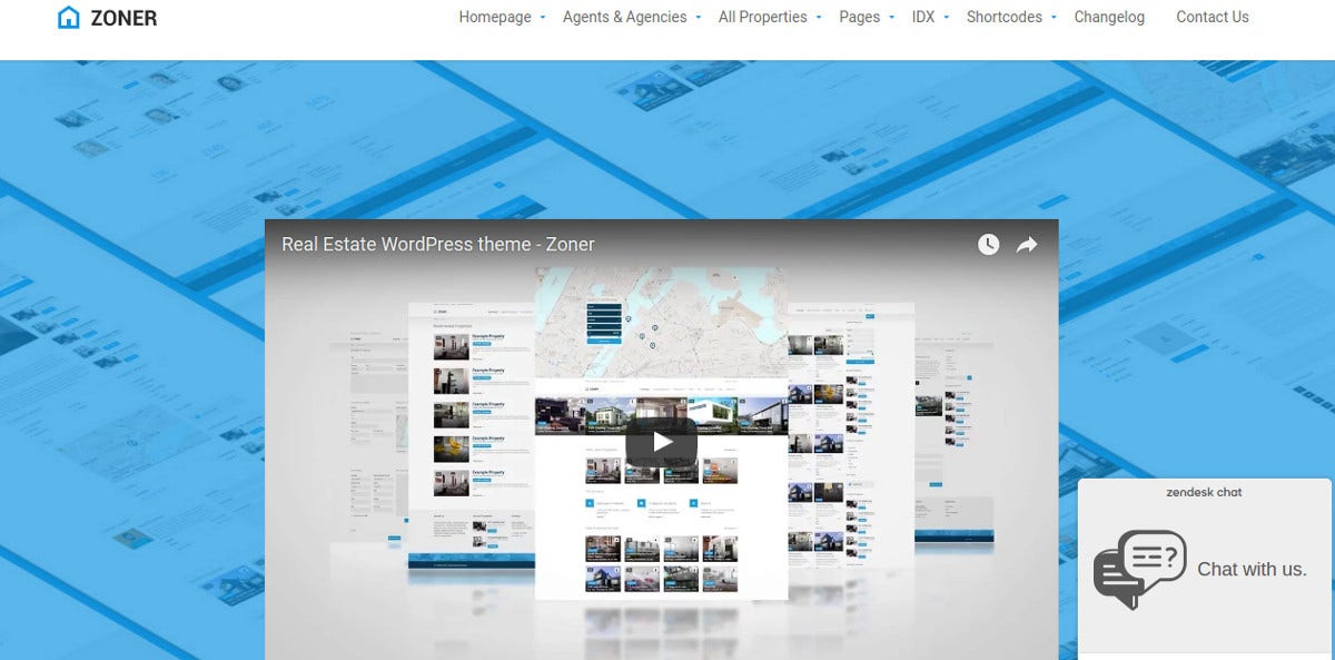 Real Estate Directory WordPress Theme $54