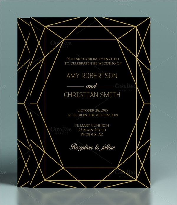 wedding invitation template1
