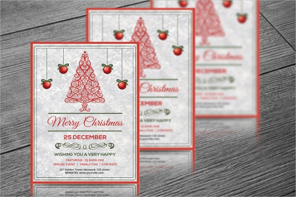 christmas party invitation template1