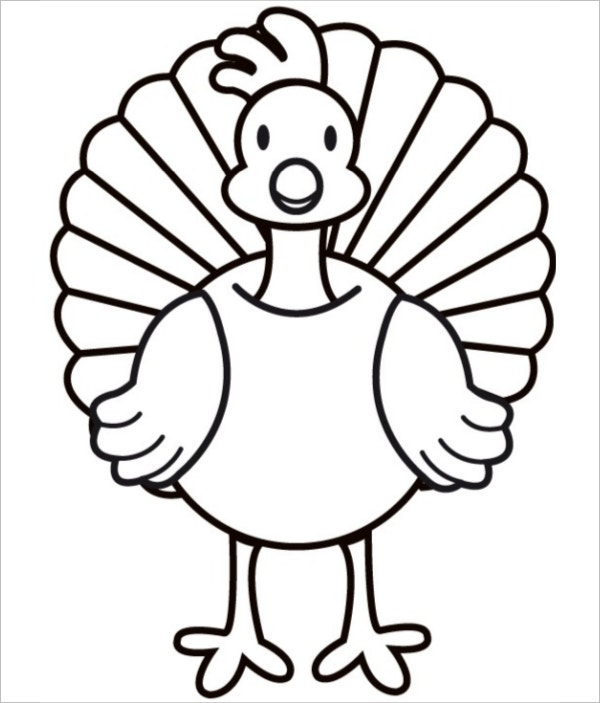 13 turkey shape templates coloring pages pdf doc for Turkey coloring pages to print