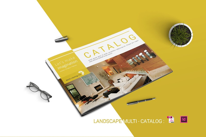Landscape Brochures  Free Psd Eps Ai Format Download  Free