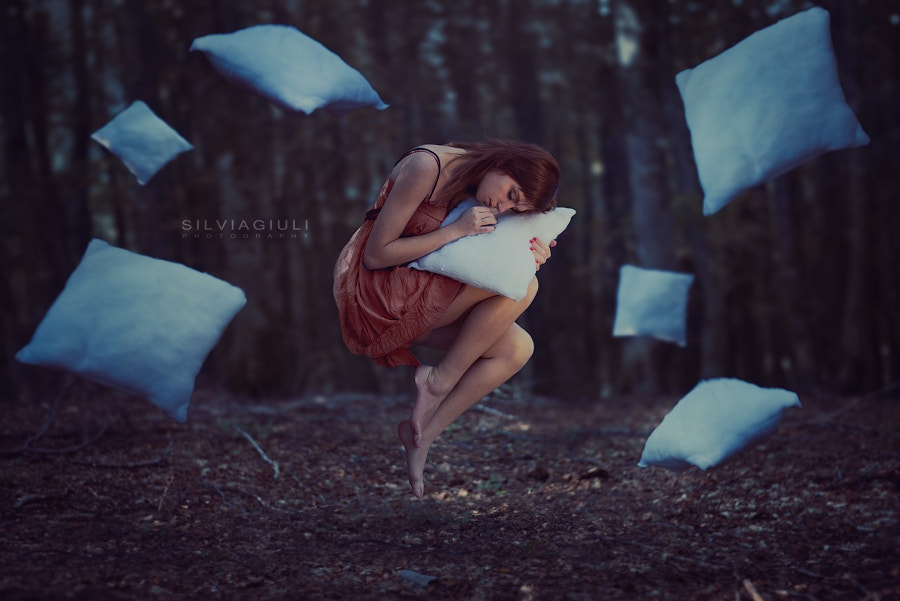 abstract surreal photography of woman