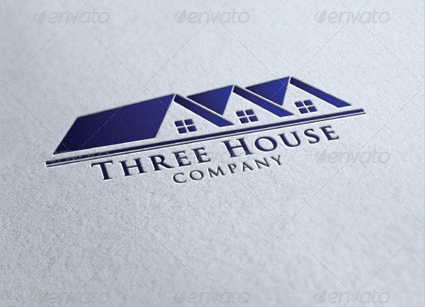 three house company logo1
