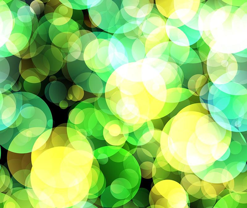 7 Fantasy Green Bokeh Textures