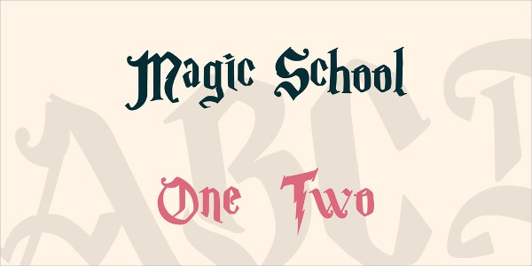 Magic School Font Family