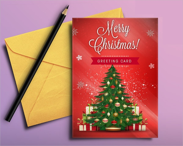Free Printable Christmas Greeting Card