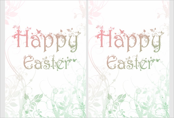Printable Easter Greeting Card