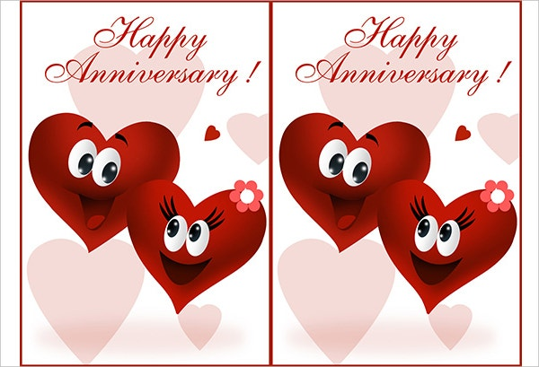 Printable Anniversary Greeting Card
