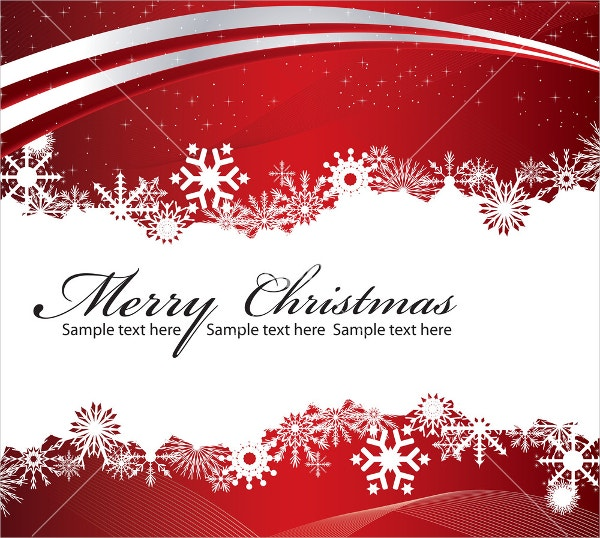 Christmas Greeting Card  Christmas Greetings Sample