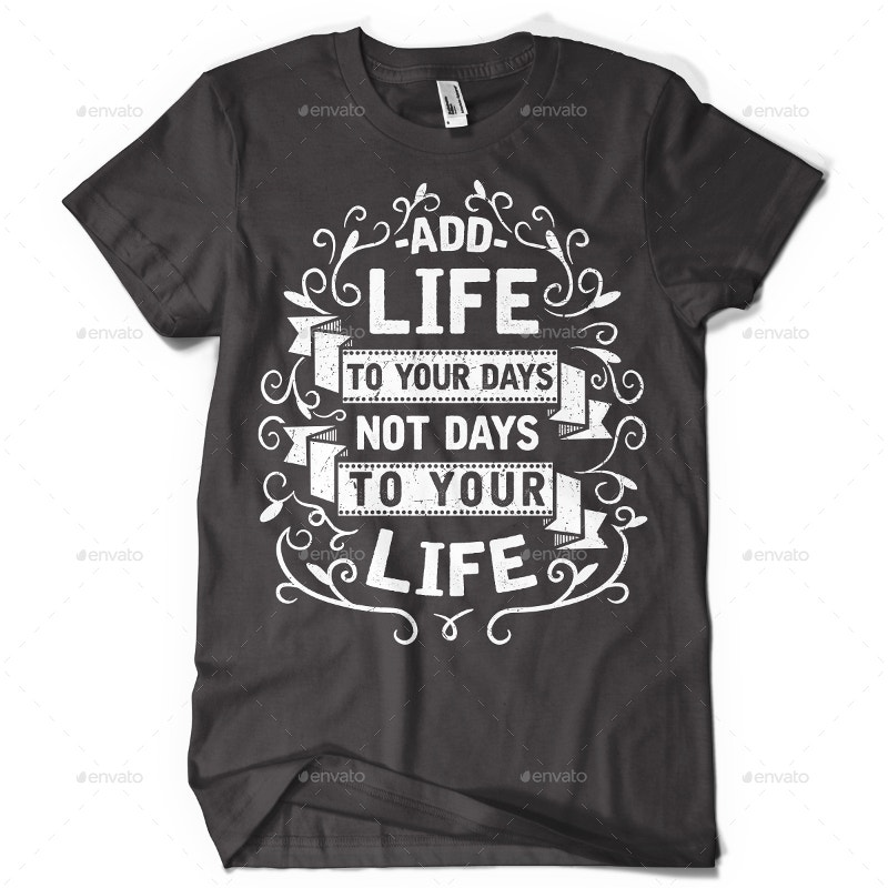 3 Typography T-shirt Design