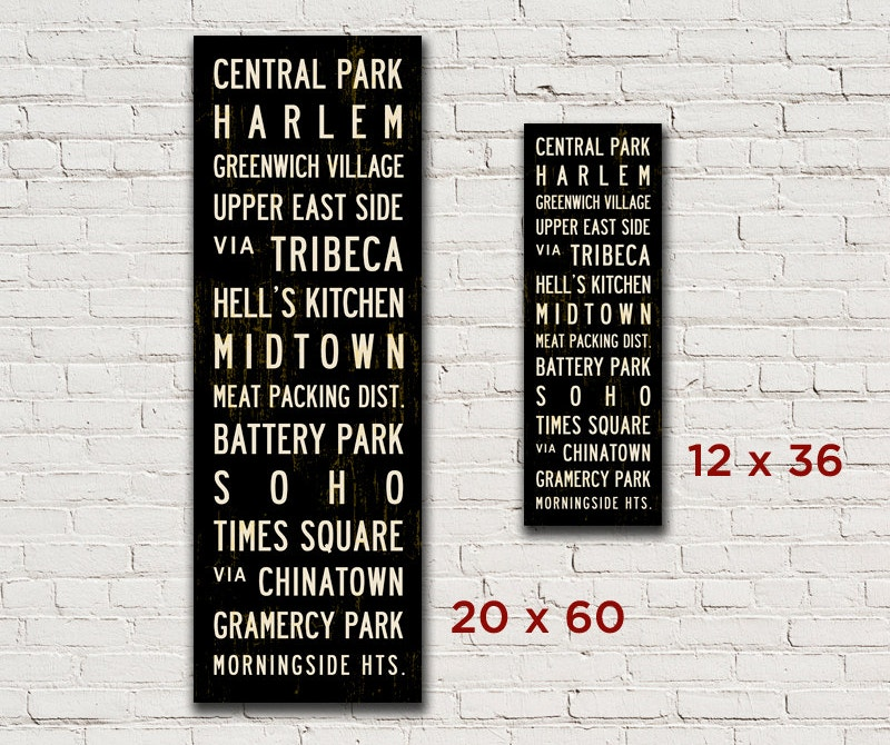 Personalized Typography Wall Art