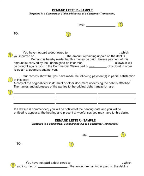 Demand-For-Payment-Letter Salary Demand Letter Template on for suiting companies, for quality, earnest money, insurance company, for injury, editable free, diminished value, for services, don compton book, turning robocalls into cash, free download print, sample security deposit, for damages,