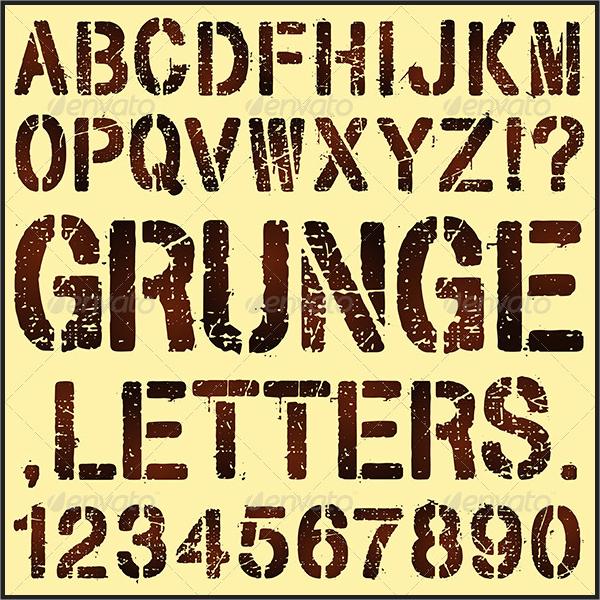 grunge-stencil-letters