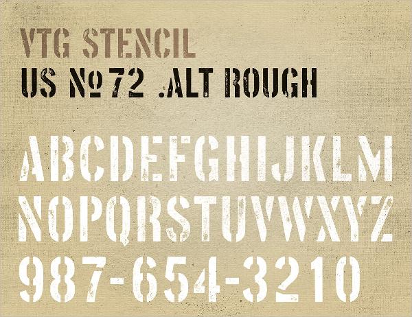 us-no-72-letter-stencil
