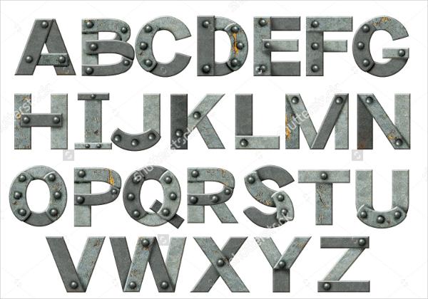 rusty-metal-letter-stencil