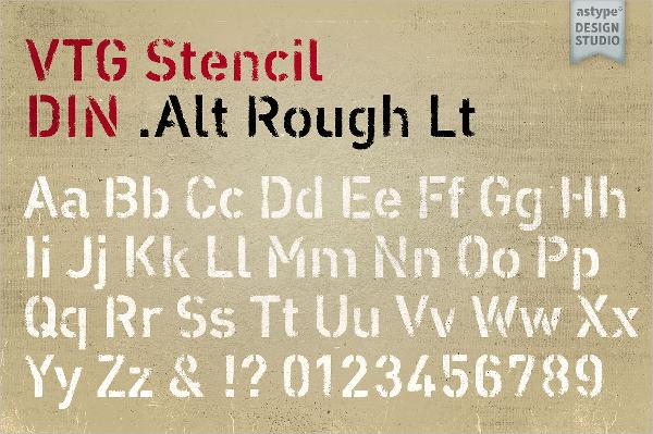 vtg-letter-stencil-din