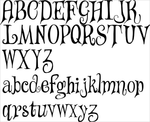 Alphabet Letter Stencil