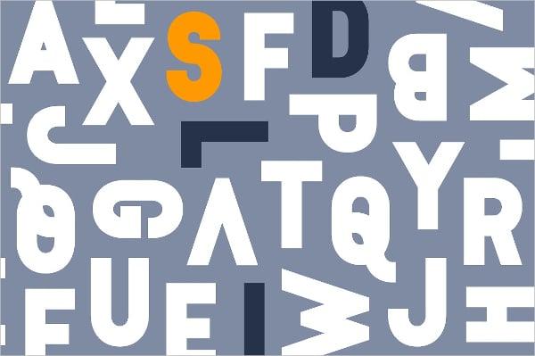 Epilepsja Family Letter Stencil