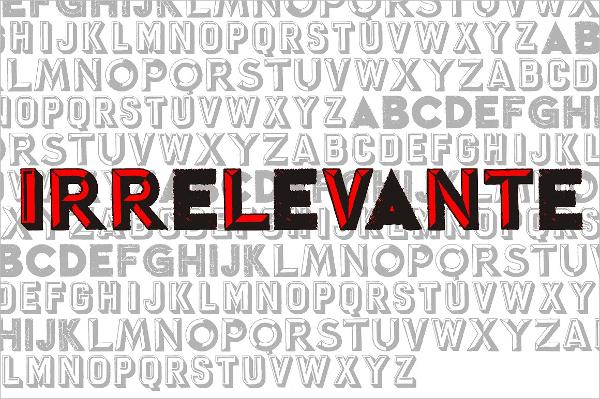irrelevante-letter-stencil