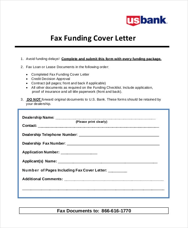 fax-funding-cover-letter-example