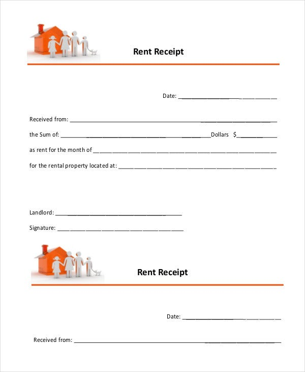 Rent Receipt 9 Free Word Pdf Documents Download Free