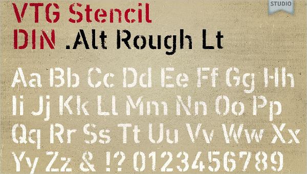 letter stencil feature image