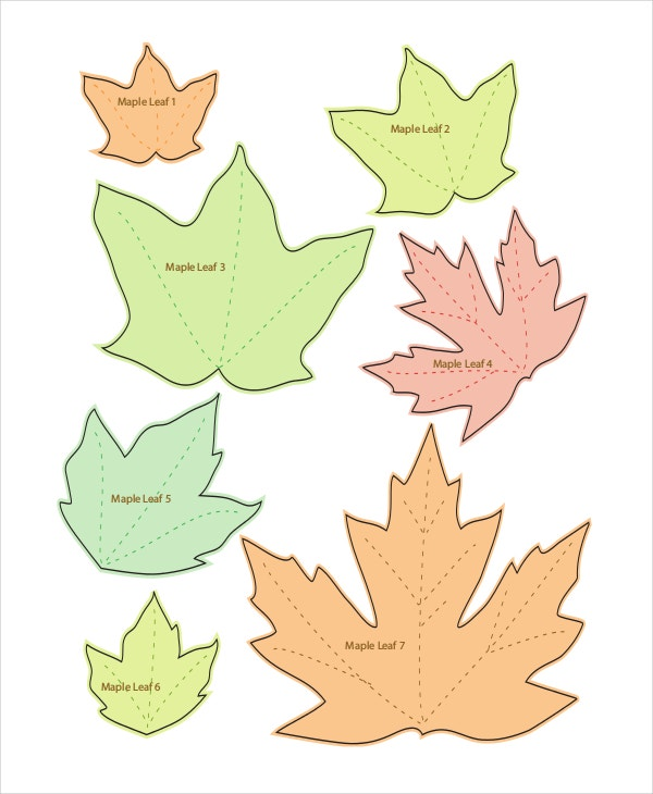 leaf template 10 free pdf psd format download free premium