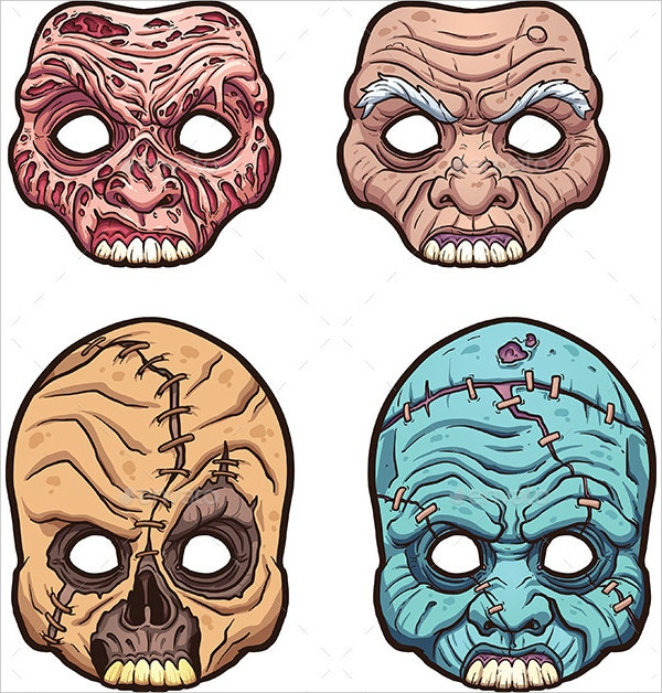 scary halloween masks