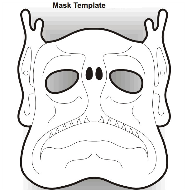 dangerous scary mask