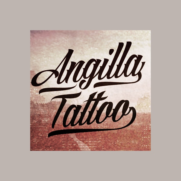 angilla tattoo personal use font