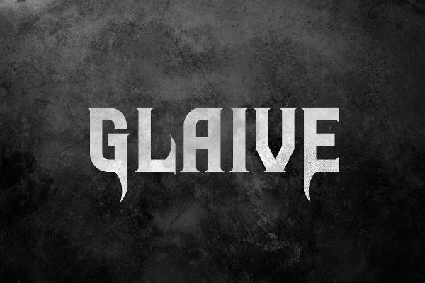 Glaive Tattoo Font