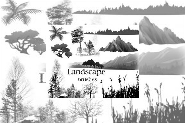 landscape photoshop brushes