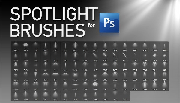 Spotlight Photoshop Brushe