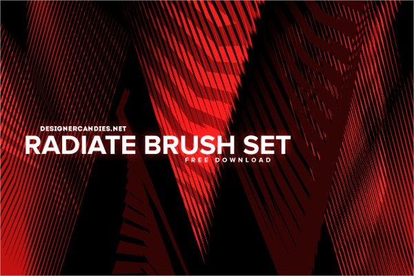 Radiate PhotoShop Brush