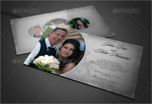 Beautiful Photo Wedding Invitations