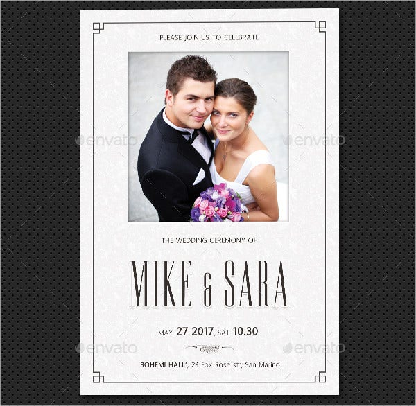 Nice Photo Wedding Invitations