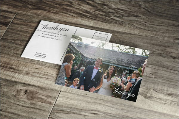 Photo Printed Wedding Invitation