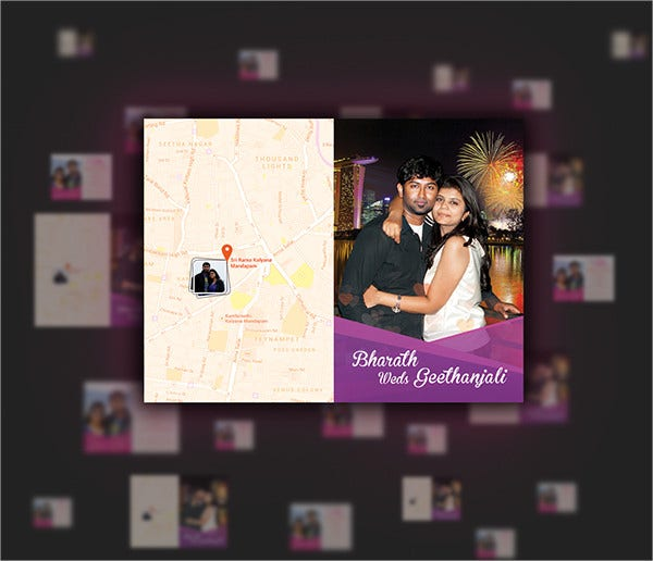 Photo Themed Wedding Cards