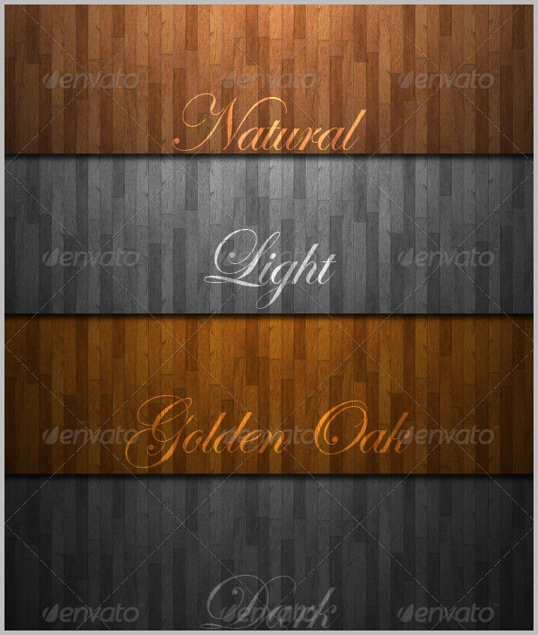 8 Different Wood Textures