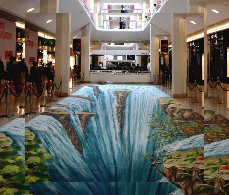 3D Art of New Waterfall